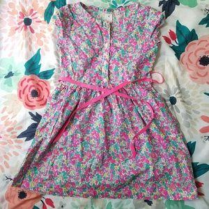 Floral Carter's toddler dress